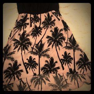 High-low summer dress